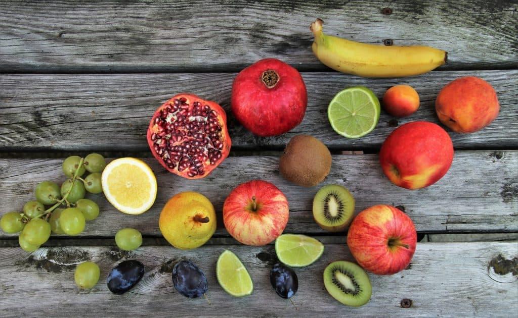 Vitamin C in Früchten